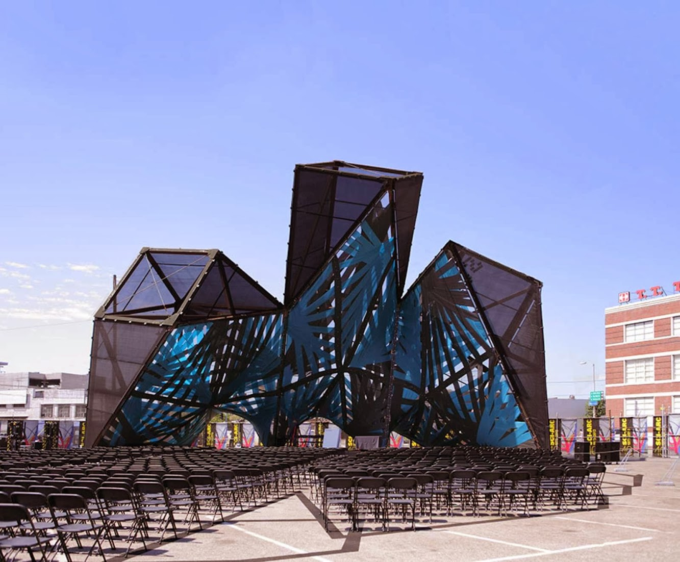 Los Angeles, California, Stati Uniti: SCI-Arc by P-A-T-T-E-R-N-S