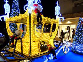 代官山アドレス・ディセのクリスマスイルミネーション2014