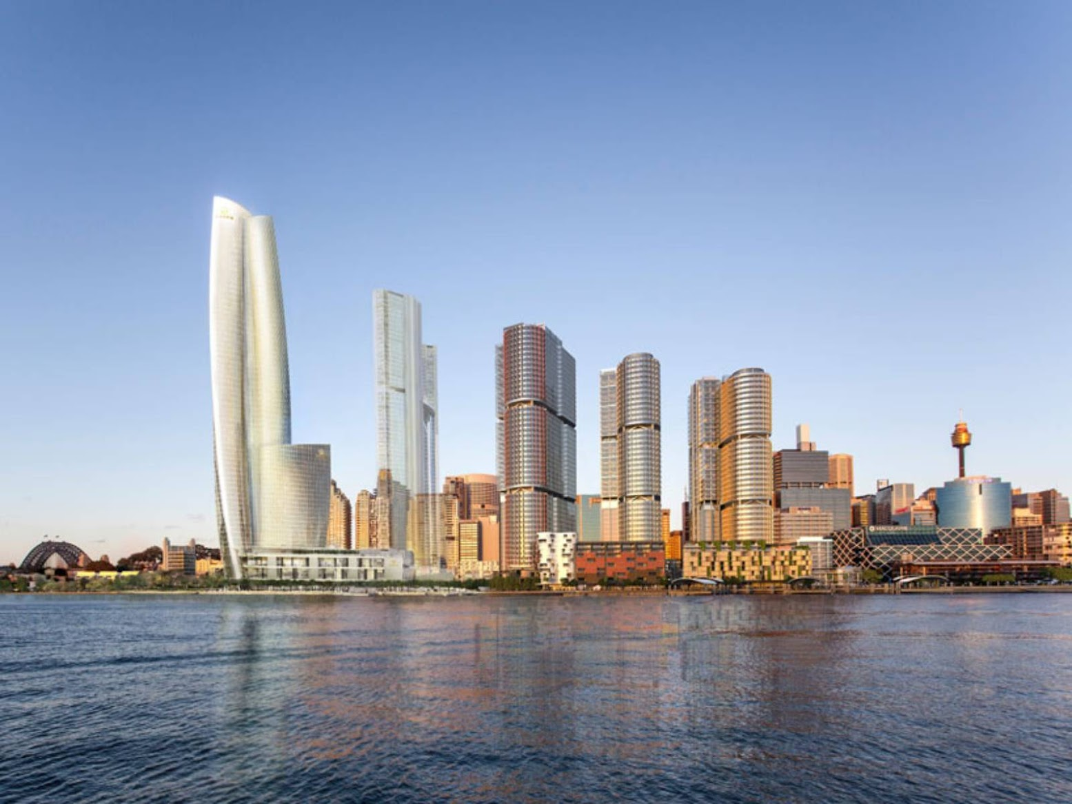 Sydney Nuovo Galles del Sud, Australia: [CROWN RESORTS HAS CHOSEN WILKINSON EYRE]