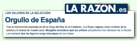 Notícia La Razón