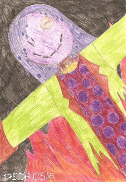 rysunek marzanny, jak narysować marzannę