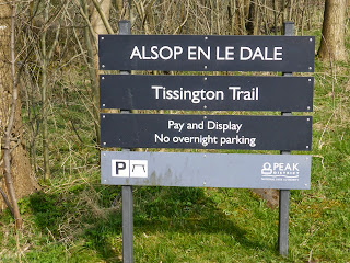 Alsop En Le Dale is about 5 miles north of Ashbourne. You could walk from Ashbourne to here on the Tissington Trail if you wanted to