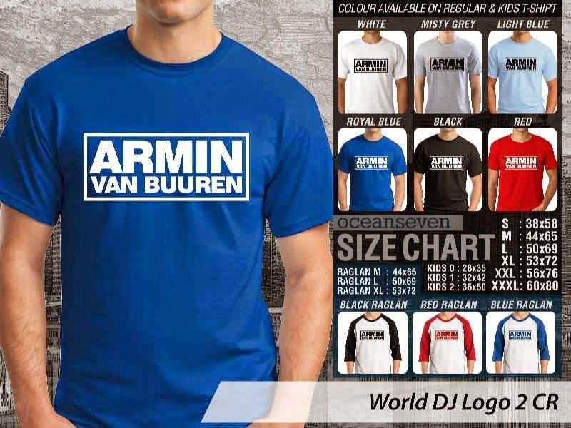 KAOS Musik DJ 2 Armin Van Buuren distro ocean seven