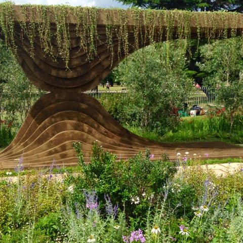 Legacy Garden - Macmillan Cancer Support by Green Hedge - RHS Hampton Court Flower Show 2014 - Photo by Noemi Mercurelli