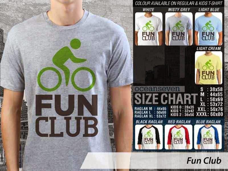 KAOS Fun Club Untuk Sepeda Biker Mania distro ocean seven