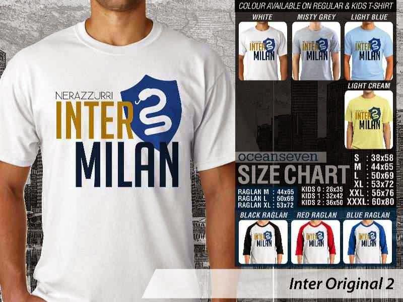 KAOS Inter Milan 21 Logo Klub Bola distro ocean seven