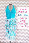 No Sew Swim Suit Cover Up