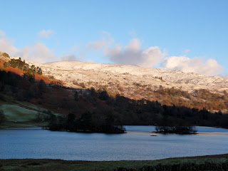 Rydal Water in the shade