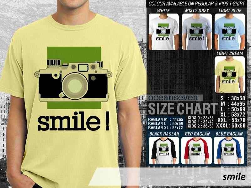 Kaos Photography Mania Smile distro ocean seven
