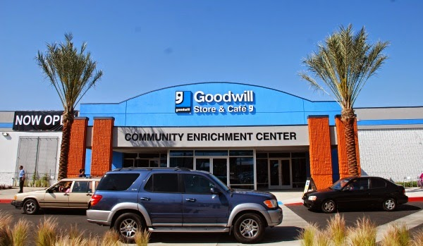 Goodwill store, Glassell Park, shopping