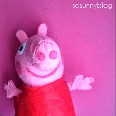 Felt Peppa pig DIY . Peppa Pig con fieltro