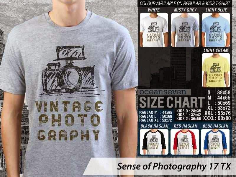 Kaos kamera Sense of Photography 17 Photography distro ocean seven