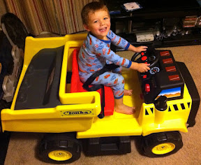 Our Kid Trax Tonka Dump Truck