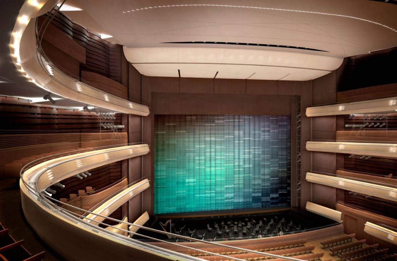 San Pietroburgo, Russia: New Mariinsky Theatre by Diamond ...