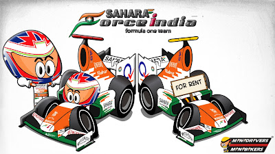 Пол ди Реста Force India VJM06 - Los MiniDrivers 2013