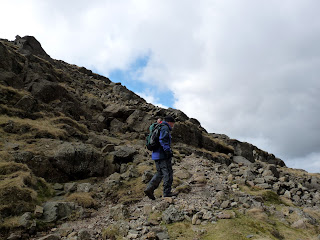 Richard ... with what looks like David in his rucksack!!