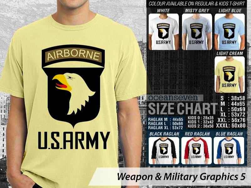KAOS Militer US Army Weapon & Military Graphics 5 distro ocean seven