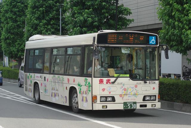 東武バスウエスト 9704号車 レインボーHR