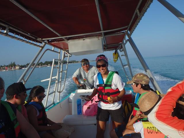 Our guide, Gabbi, and el capitan.