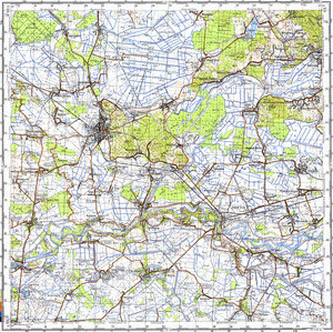 Map 100k--m34-142--(1981)