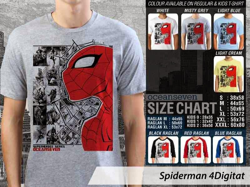 KAOS Spiderman 4 Amazing Superhero distro ocean seven