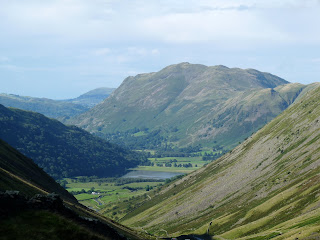 A glimpse back to Place Fell from the Kirkstone Pass