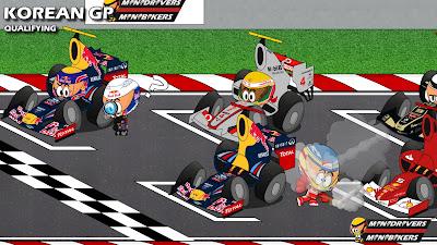 итоги квалификации - Los MiniDrivers по Гран-при Кореи 2012