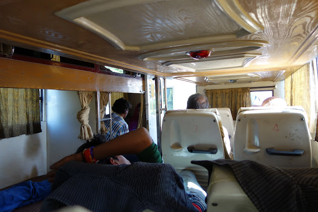 "The ""palace on wheels"" from Jodhpur to Udaipur."