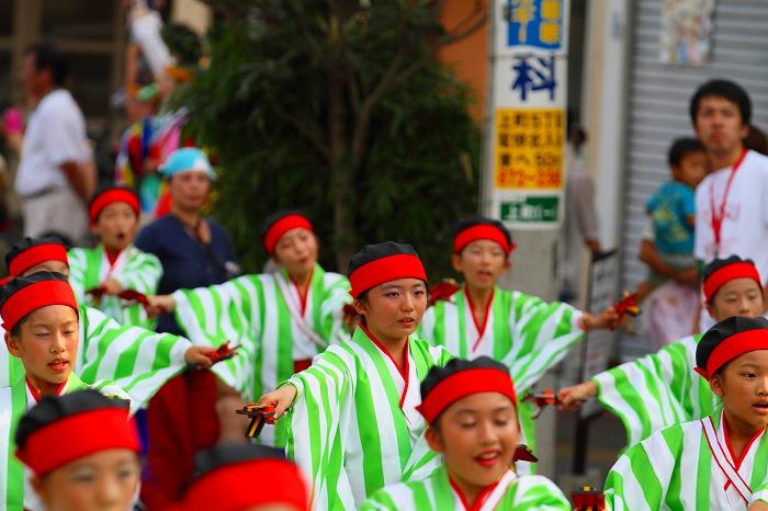 第59回よさこい祭り☆本祭1日目・升形地域競演場73☆上1目2007