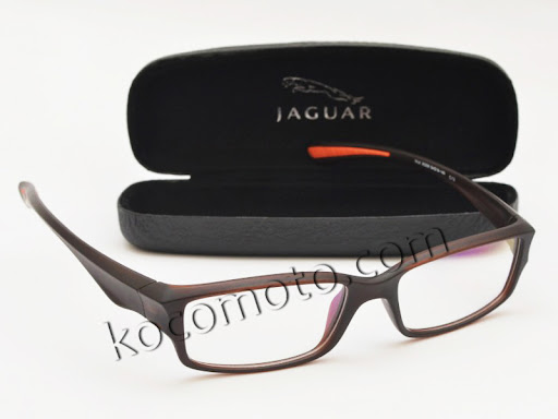 Frame Kacamata Jaguar 36208 Brown : FJ-36208-O