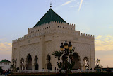 The Mohammed V Mausoleum - Rabat, Morocco