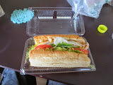 There's only one size sandwich at Subway in Japan - it would be a small in the US