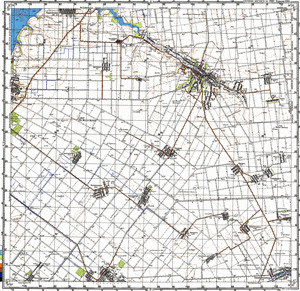 Map 100k--l36-033--(1986)