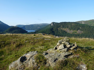 Thirlmere from one of the many tops of High Rigg.