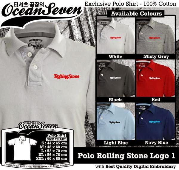 POLO Rolling Stone Logo distro ocean seven
