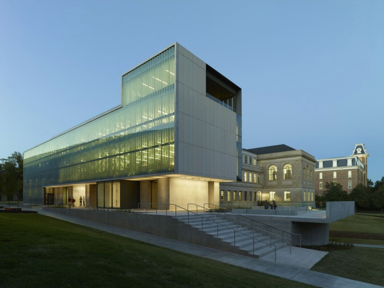 University: STEVEN L ANDERSON DESIGN CENTER by MARLON BLACKWELL ARCHITECT