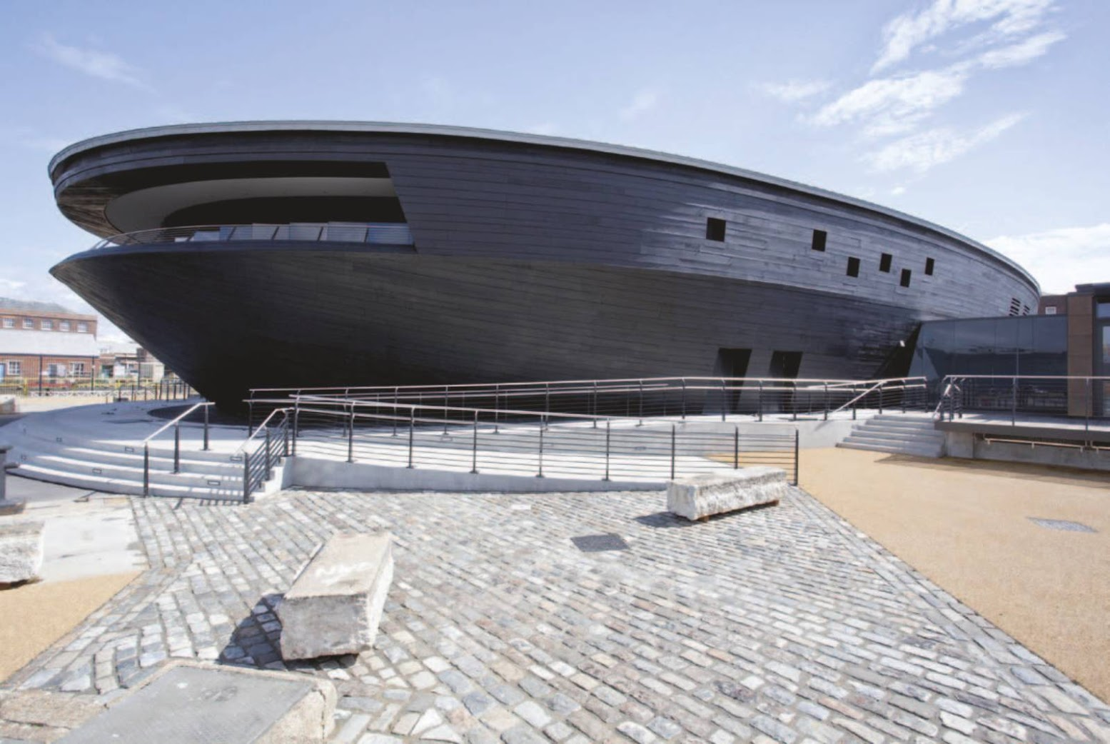Portsmouth, Regno Unito: [MARY ROSE MUSEUM BY WILKINSON EYRE]