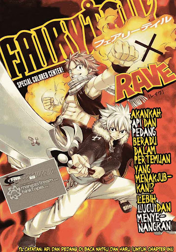 Fairy Tail x rave page 1