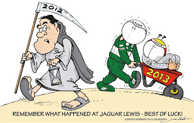 Норберт Хауг уходит из Mercedes - комикс Jim Bamber