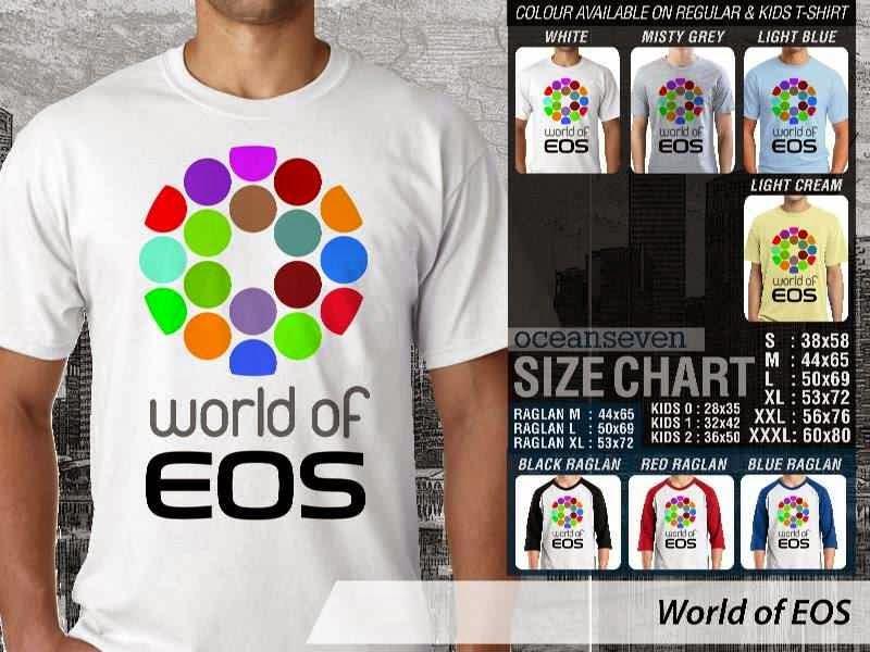 Kaos Photography Mania World of EOS distro ocean seven