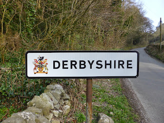 Leaving Derbyshire. This walk is mainly on the border between Derbyshire and Staffordshire