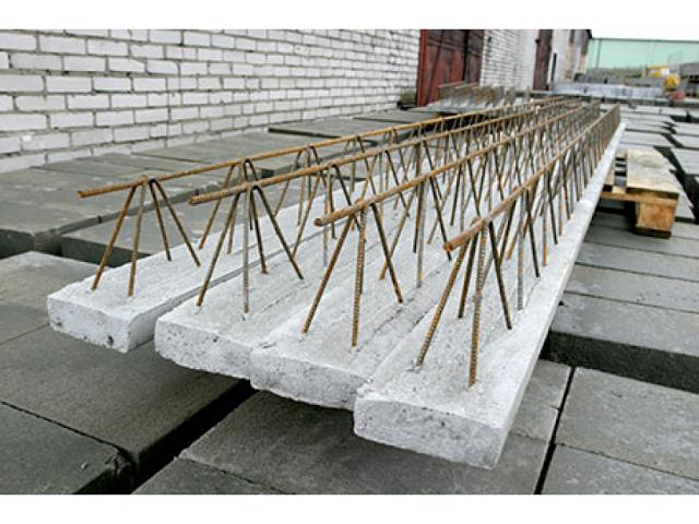 Балки перекрытия из бетона