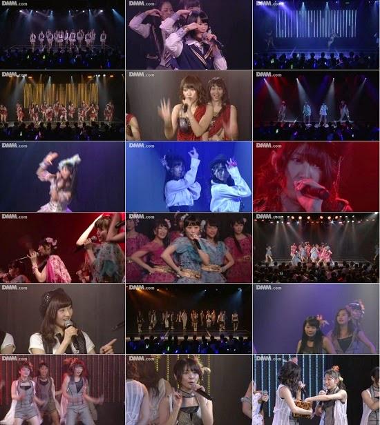 "(LIVE)(公演) NMB48 チームBII ""逆上がり"" 公演 141119"