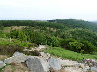 Looking down the ascent of Gummers How