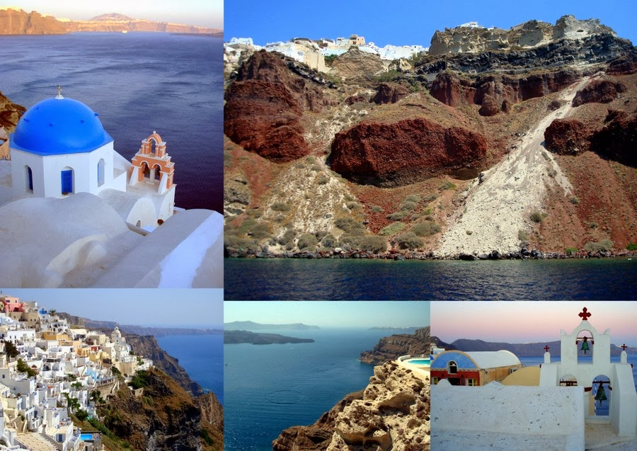 Остров Тира (Санторини). Подождите загрузки картинки!