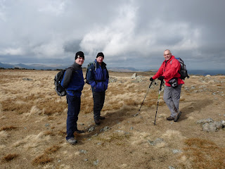 We meet up with Simon while we were on Stony Cove Pike. He had walked up from Troutbeck Tongue.