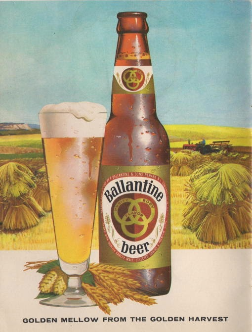 Ballantine Beer Ad