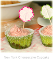 New York Cheesecake-Cupcake