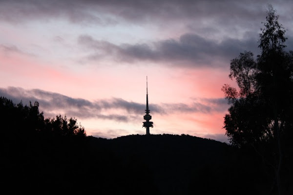 telstrayama sunset