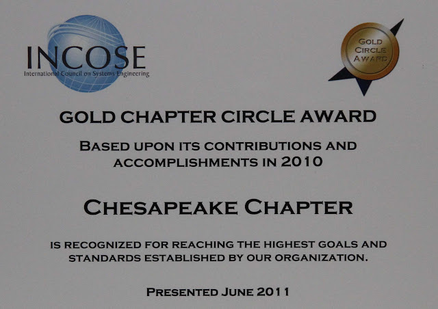 2011 Chesapeake Chapter Gold Circle Award